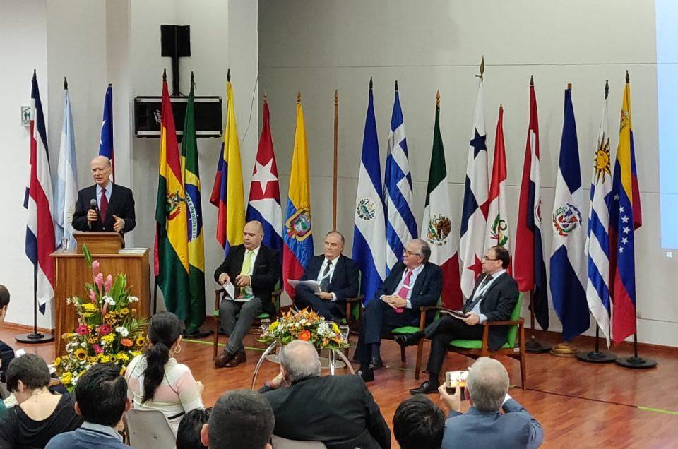 Con éxito se realizó el congreso continental de derecho cooperativo en San José De Costa Rica