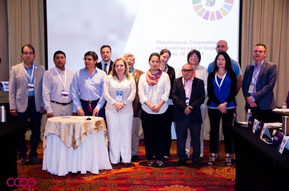 La Plataforma de Cooperativas de las Américas se reúne en San José de Costa Rica